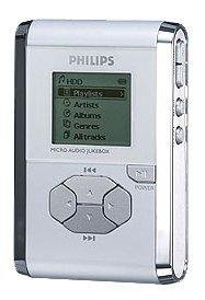 PHILIPS PHILIPS 2 GB DIGITAL AUDIO PLAYER WITH FM TUNER