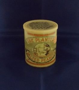 Vintage 1981 Limited Edition 75th Anniversary Planters Salted Peanuts Tin Decor