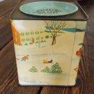 Vintage Collectible WALEECO 2 LB BANK HARD CANDY MIXTURE TIN
