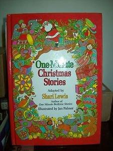 One-Minute Christmas Stories, Lewis, Shari 1987
