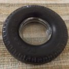 Vintage Firestone Transteel Radial Tire Ashtray - With Glass Insert Tray