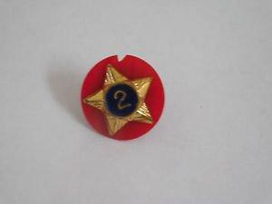 Collectible Vintage Boy Scouts 2 Year Enamel Star Hat Pin Lapel Pin