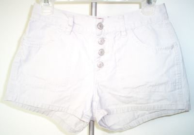 OLD NAVY size 2 khaki button fly short shorts daisy dukes excellent deal!
