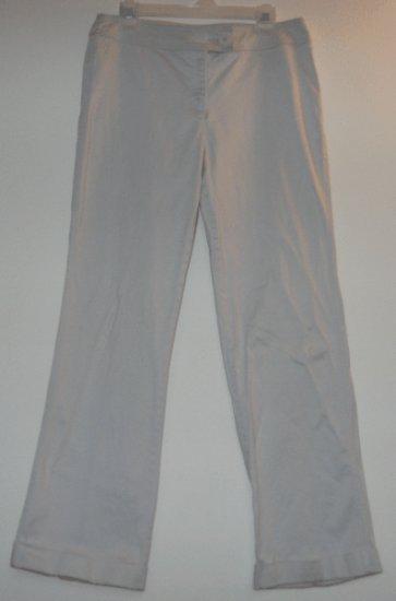 WESTBOUND STRETCH pale blue slacks pants size 12 gorgeous