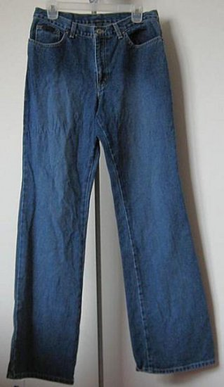 excellent condition New York Jeans low rise flare size 8 darker wash