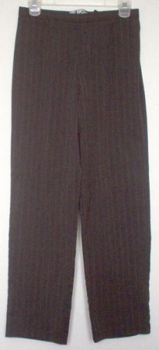 Requirements Petite pinstripe gray pants slacks size 8p