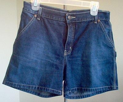 BRAND NEW Nautica jean shorts size 8 dark wash NWOT gorgeous