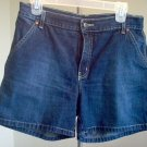 BRAND NEW Nautica jean shorts size 8 dark wash NWOT gorgeous