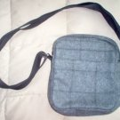 like new AFTERTHOUGHTS gray purse adjustable straps cute