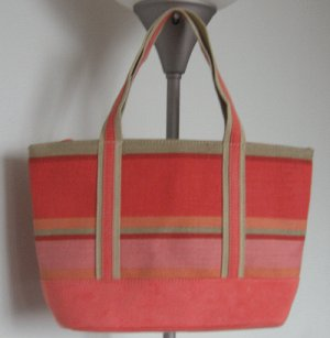 LIKE NEW Bath and Body Works peach purse handbag bag