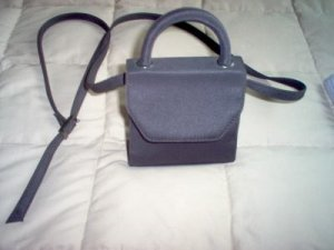 like new CROFT AND BARROW dark brown small purse