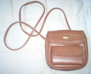 brand new brown LIZ CLAIBORNE purse handbag multiple pocket NWOT