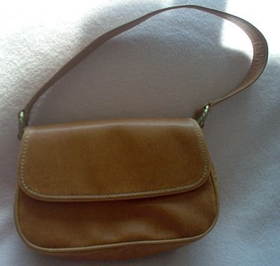 NINE WEST brown handbag purse like new gorgeous