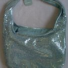 NWT silver sequin sling purse bag NOBO lightweight brand NEW