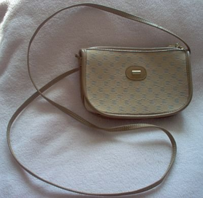 PIERRE CARDIN brown handbag purse like new adorable