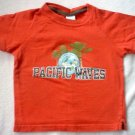 Old Navy tee 3T orange surf boy LIKE NEW