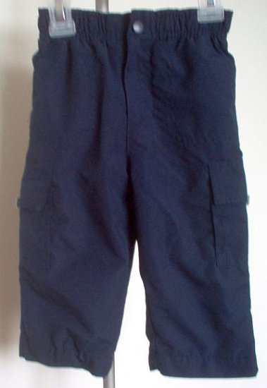 blue KID CONNECTION cargo pants size 12 months in excellent condition