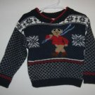 B.T. Kids blue bear sweater size size 2T 3T 2 3 years in excellent condition