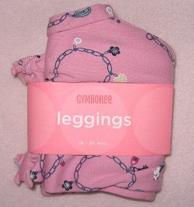 brand new Gymboree Chelsea Girl 18-24 months charm leggings NWT
