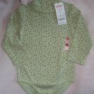 brand new Gymboree green Winter Princess 18-24 mo onesie NWT