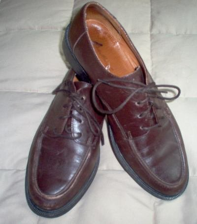 EDDIE BAUER lace up oxfords career shoes brown size 10 in excellent condition