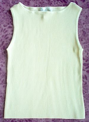 brand new Grace Knitwear size large silk career tank shirt top NWOT