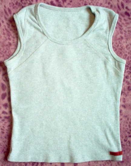 Lot of 2 Cotton City tanks tank grey gray black like new size medium