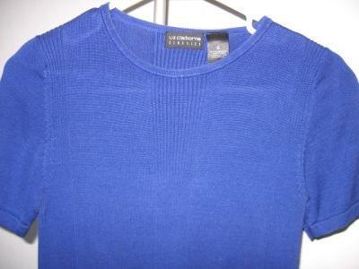 Liz Claiborne Classics royal blue shirt silk size small