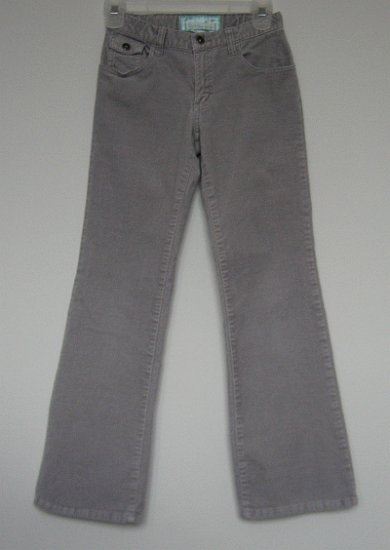 OLD NAVY girls soft pants size 12 gray adjustable waist