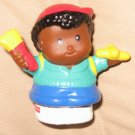Fisher Price Little People Michael from school with plane brush