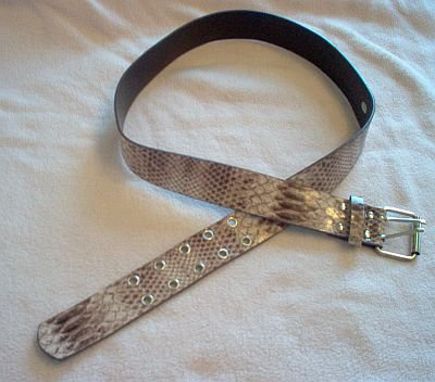 brand new No Boundaries dark mauve pink brown print belt size 13 NWOT