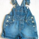 boys or girls Koala Kids shorts jeans overall shortall 12 months like new