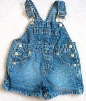 boys or girls Koala Kids shorts jeans overall shortall 12 months like new