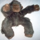 Pier 1 Imports Monkey shaggy brown adorable soft