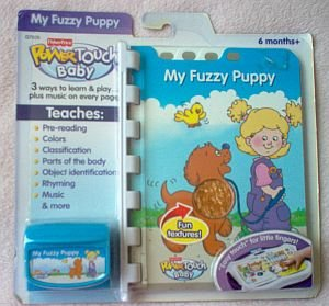 Fisher Price Power Touch Baby My Fuzzy Puppy NIP NIB