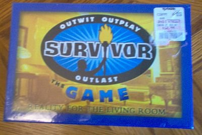 Survivor Game sealed new 2003 outwit outplay outlast
