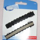 Brand new set of 2 black barrettes by Goody NIP