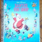 Little Golden Book Vintage Santa's Toy Shop 1950 good condition