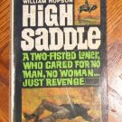 1952 vintage High Saddle by William Hopson Magnum excellent condition