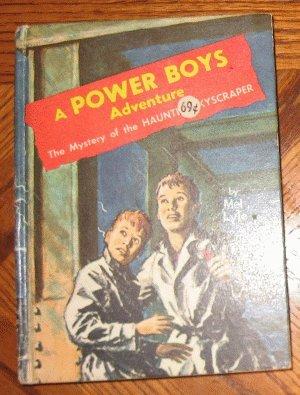 vintage 1964 Power Boys Mystery of Haunted Skyscraper