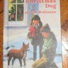 vintage 1969 The Christmas Dog Robinson NEAR MINT book