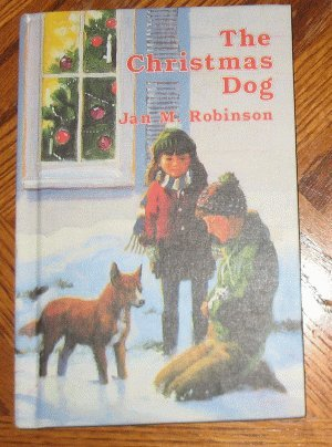 vintage 1969 The Christmas Dog Robinson NEAR MINT book