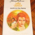 vintage 1979 Harlequin Sara Craven MOTH TO THE FLAME