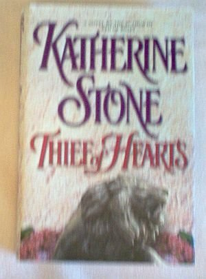 Book: Katherine Stone Thief of Hearts hardcover with dustjacket