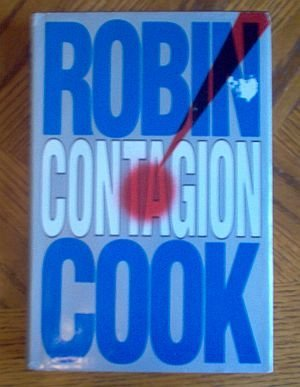 book: hardcover with dustjacket Contagion by Robin Cook good condition