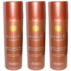 3 Body Drench Sunless Self Tanning Spray Mist 6oz