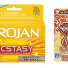 TROJAN ULTRA RIBBED ECSTASY CONDOMS W/SPANISH FLY