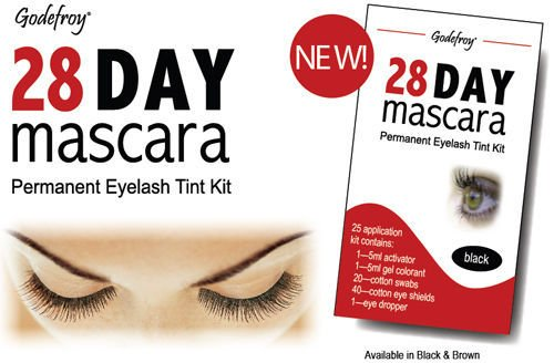 Godefroy 28 Day Mascara Permanent Lash Tint Kit BLACK