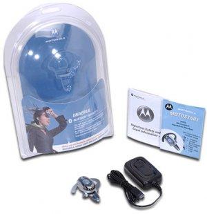 Motorola H700 Bluetooth Headset--Black Color