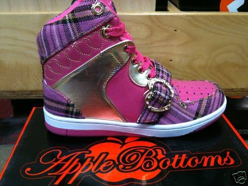 APPLE BOTTOM SNEAKERS SIZES 6-10 NEW COLORS